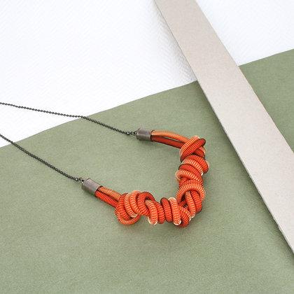 Eloise Necklace Orange