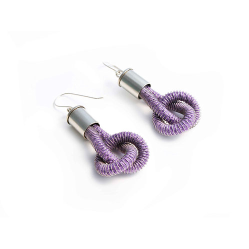 Anna Earrings Purple