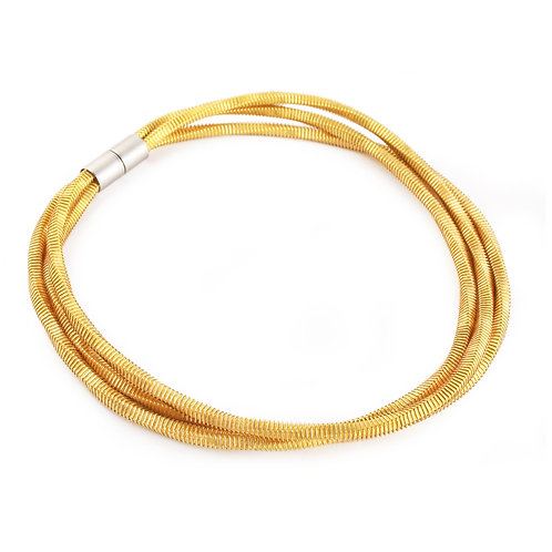 Jean Necklace Yellow