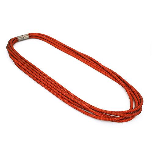 Orly Necklace Orange Dark
