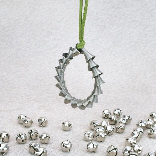 Cone Ornament Silver