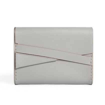 Shira Clutch Bag Grey