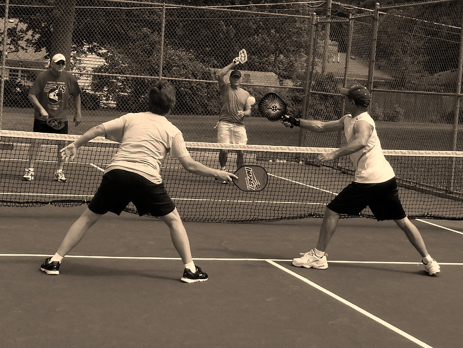 Playing Piockleball in Fort Wayne