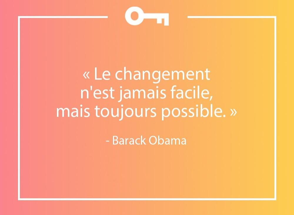 citation changement Barack Obama