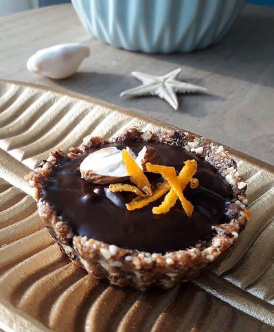 recette tartelette chocolat orange