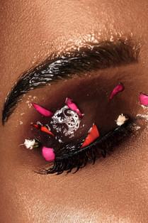 creative closeup makeup