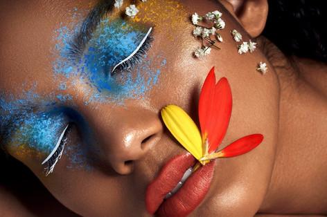 flower beauty makeup