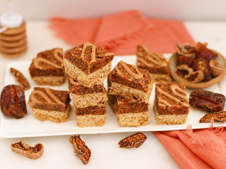 Fig and Date Protein Bars