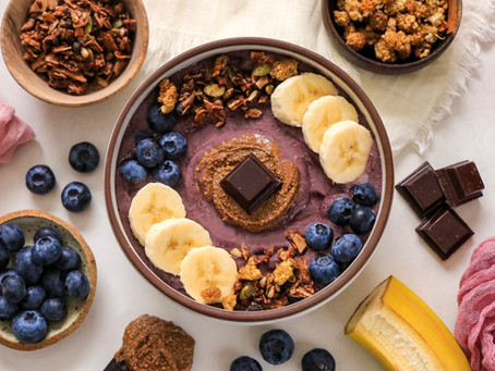 Blueberry Chocolate Bowl