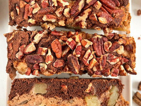 Marbled Apple Bread