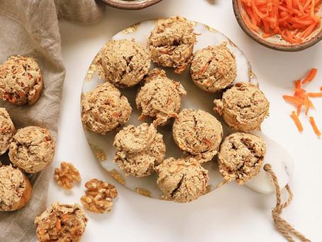 Carrot Cake Muffin Bites