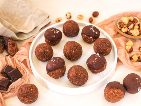 Choco Hazelnut Bites
