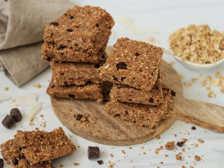 No-Bake Chocolate Chip Coconut Bars
