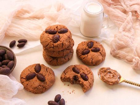 Chewy Almond Butter Cookies