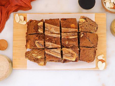 Banana Almond Loaf