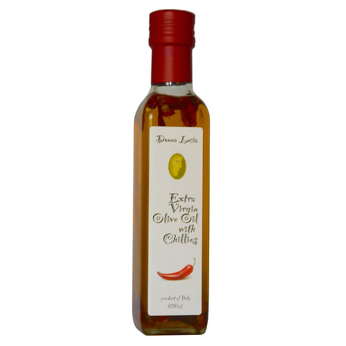 Extra Virgin Olive Oil with Chillies