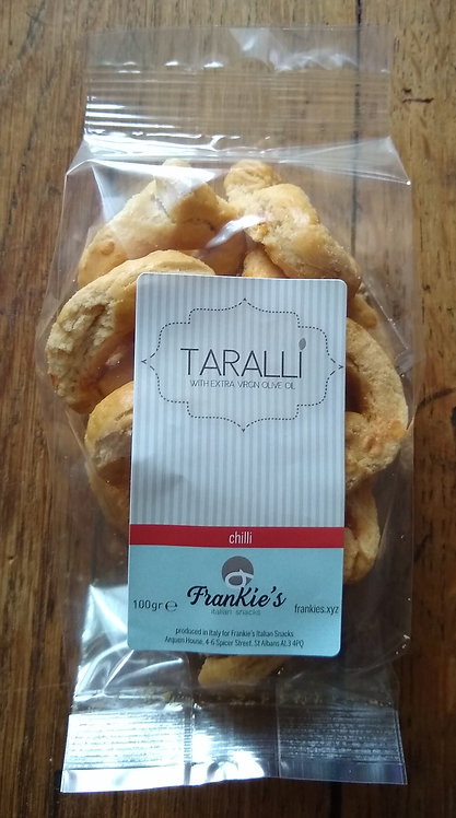 Puglian taralli with chillies