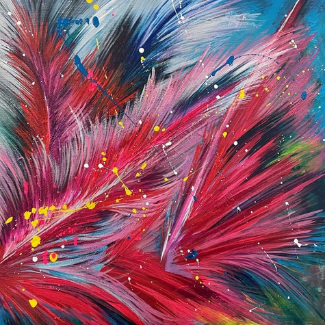 Różowe palmowce