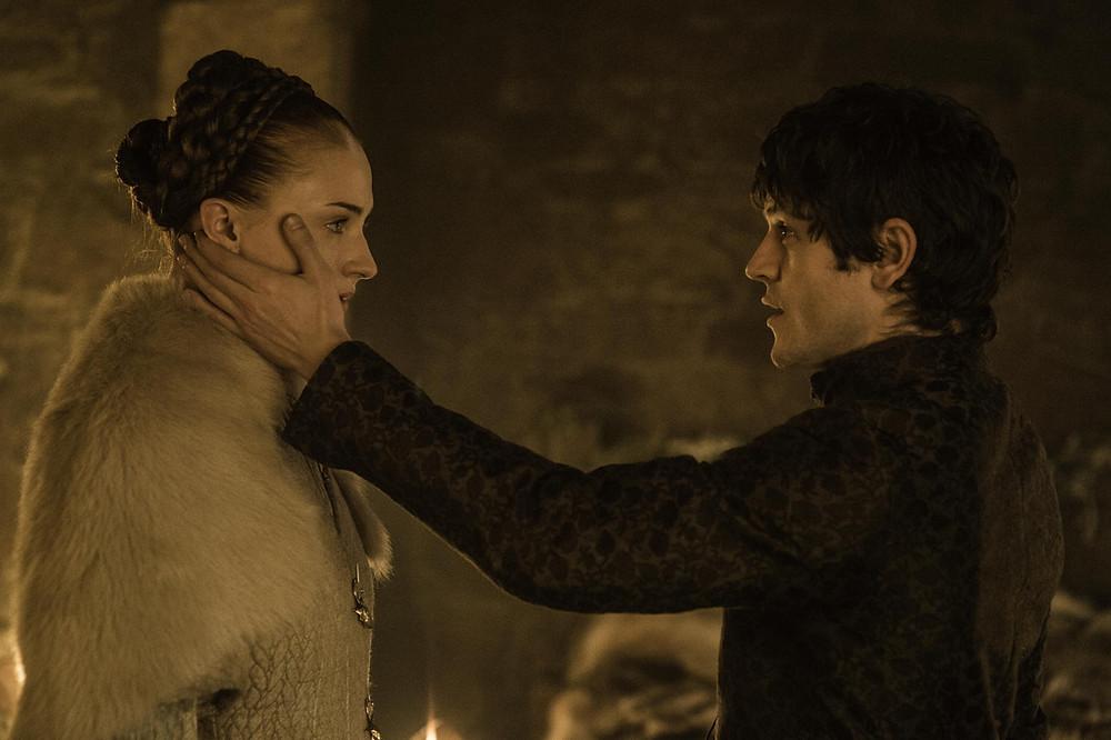 Sansa Stark e Ramsay Bolton: um casamento que acabaria afastando espectadores de Game of Thrones