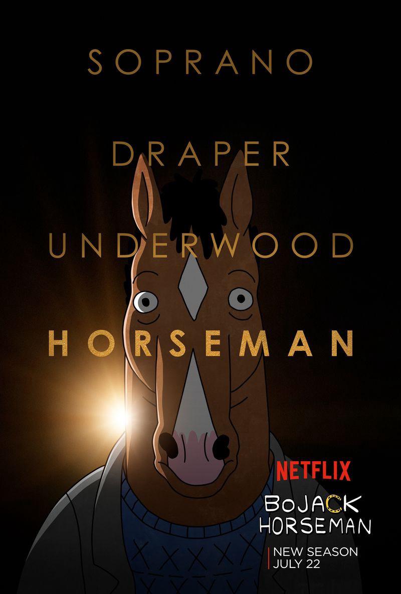 Soprano, Draper, Underwood e Horseman: frutos da mesma era da TV
