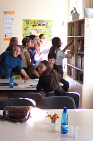 English Resource Center: creating increased access for English language learners in Moldova