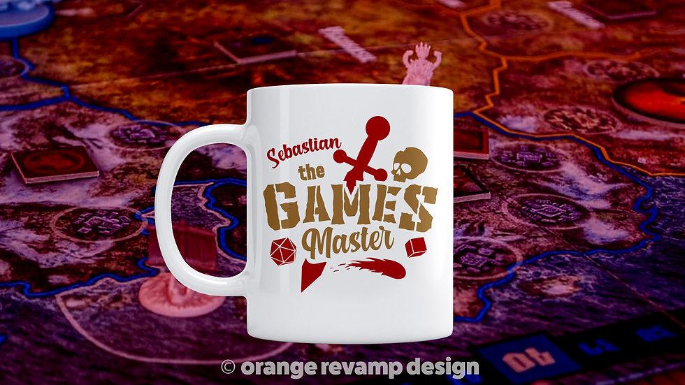 I'm the Games Master Personalised Mug