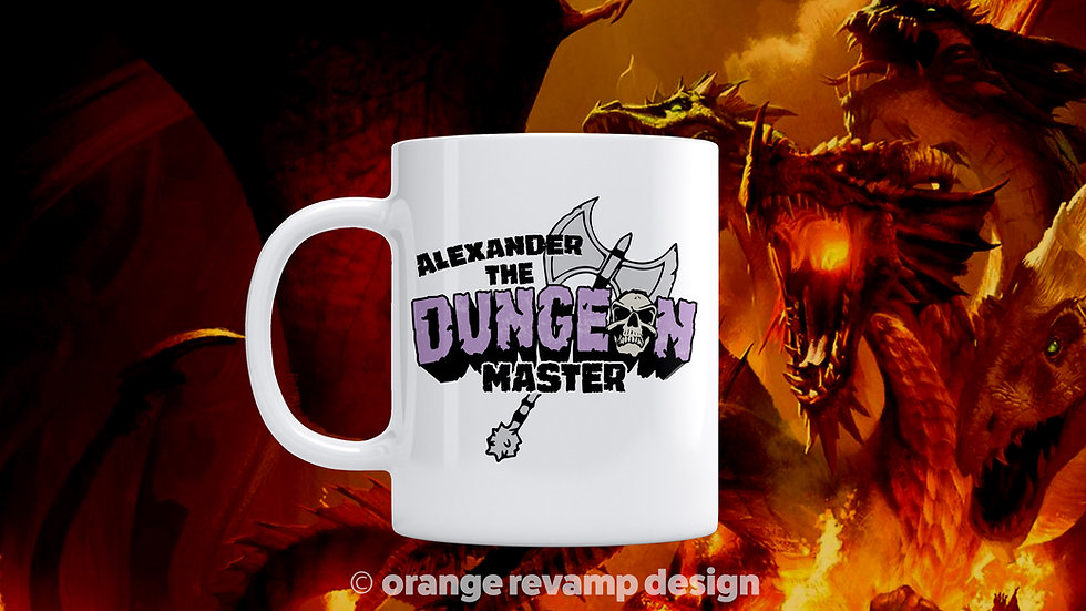 I'm the Dungeon Master Personalised Mug