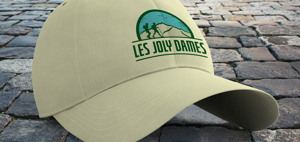Logo design for French walking group