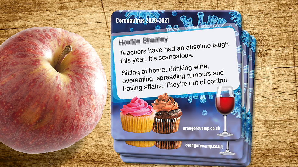 """Teachers having an absolute laugh"" Coasters"