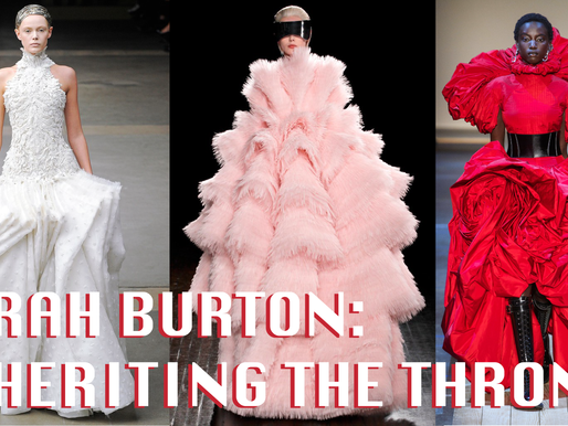 Sarah Burton: Inheriting the throne