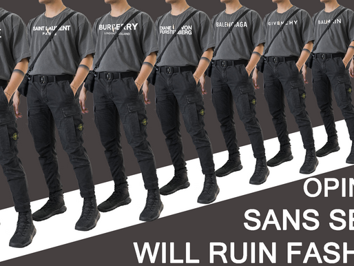 Opinion: Sans-Serif will Ruin Fashion