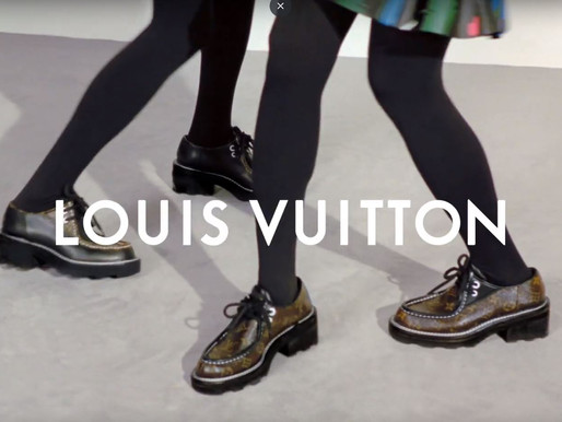 Louis Vuitton drops women's shoe campaign - F/W 2019