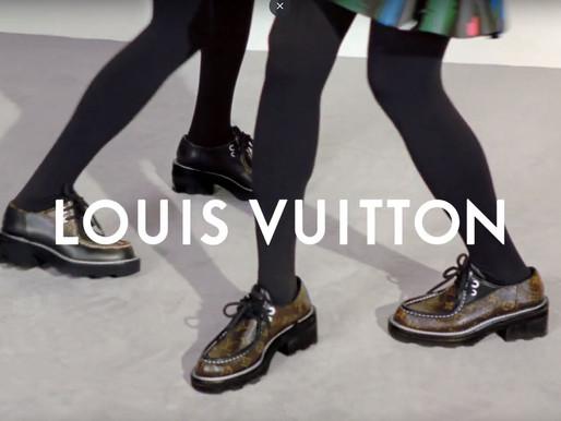 Louis Vuitton drops women's shoe campaign - F/W 2019