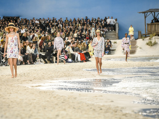 Ready to...Swim? / Chanel SS 2019 RTW