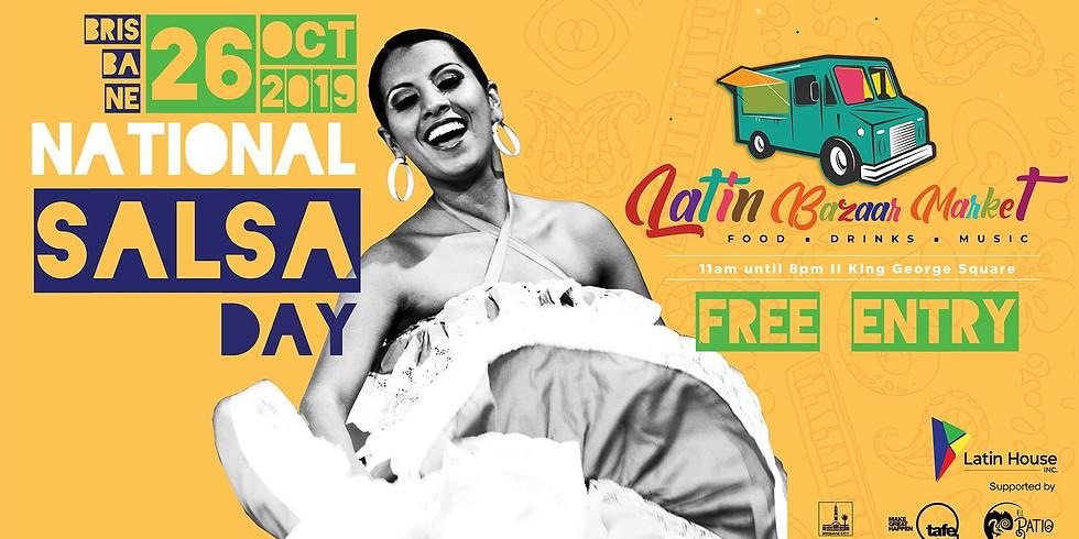 Latin Bazaar Market + National Salsa Day
