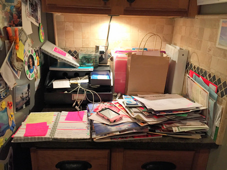 Organizer, Organize Thyself.