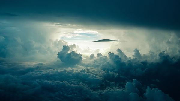 Wolkenlandschaft Energiebehandlung