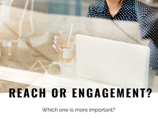 Reach 還是Engagement ? 那個指標較重要 ?