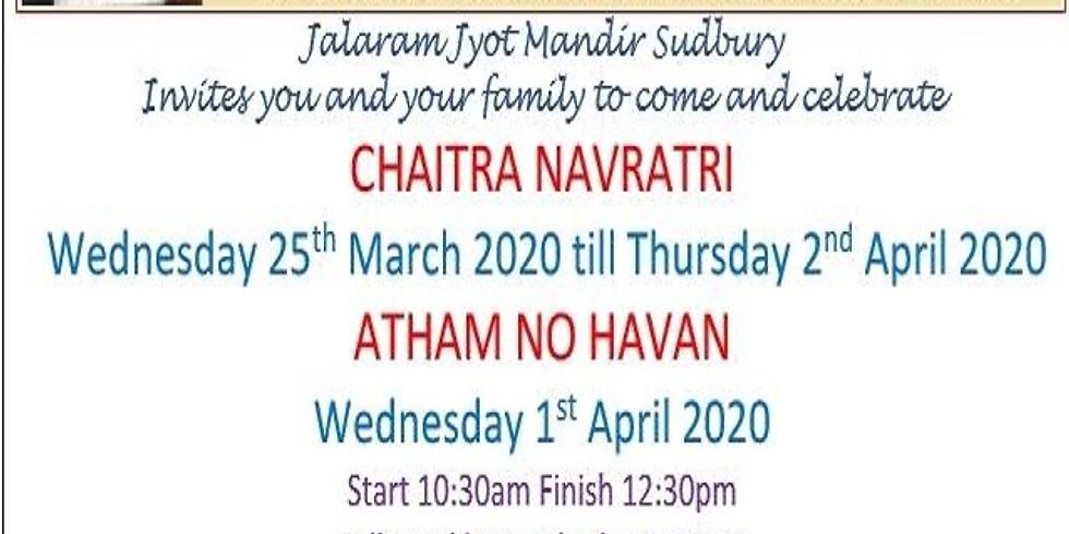 CHAITRA NAVRATRI AND ATHAM NO HAVAN