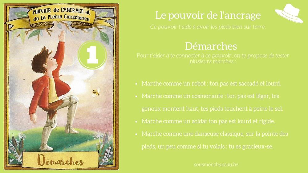 Jeux livre outil bien-être pour les enfants apprendre émotion respiration ancrage nature confiance thérapeutique oracle