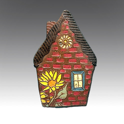 House with Yellow Flower