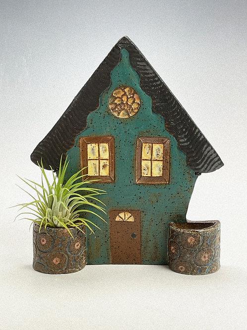 Teal Pocket House