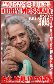 Wednesday, October 31: Bobby Messano Europe Tour -with Myke Rock and Koen Mertens- Play a Concert in