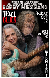 Bobby Messano Kicks-Off Tour with a Texel Blues Festival headlining set October 12 in Netherlands!