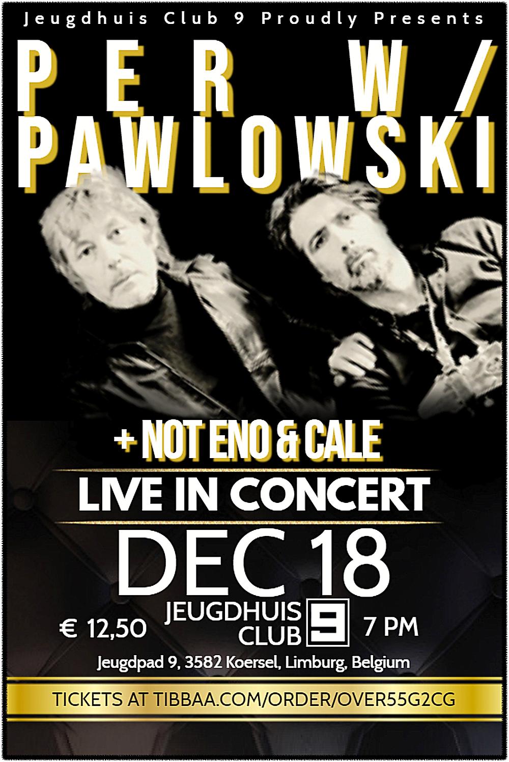 Per W/Pawlowski & Marcel Vanthilt In Concert!