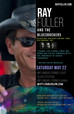 Ray Fuller and the Bluesrockers headline Mifflinburg, PA Blues Fest SAT MAY 22, 2021!