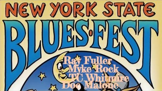 FRI JUN 25 Ray Fuller, Bluesrockers @ New York State Blues Fest w/ Larkin Poe, Fabulous Thunderbirds
