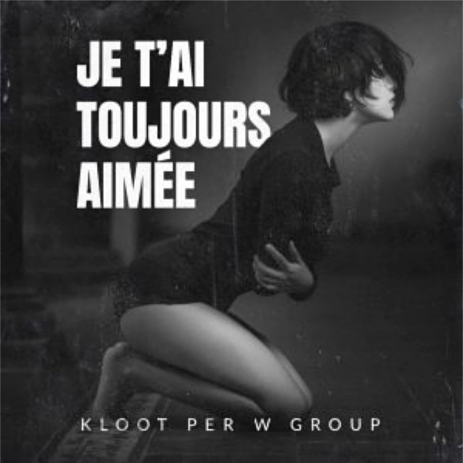 """Kloot Per W Group's -Debut Single- """"Je T'ai Toujours Aimée"""" released on U.K.'s Jezus Factory Records label (May 29, 2020)"""