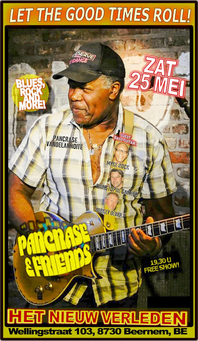 Pancrase & Friends return to Het Nieuw Verleden - Beernem, BE - Zat 25 Mei!
