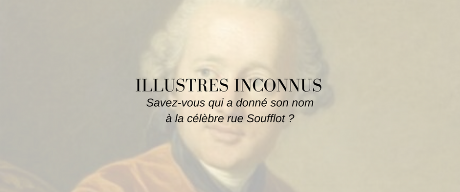 Vous avez dit Soufflot ?